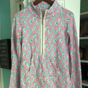 Lily Pulitzer half zip, perfect for summer
